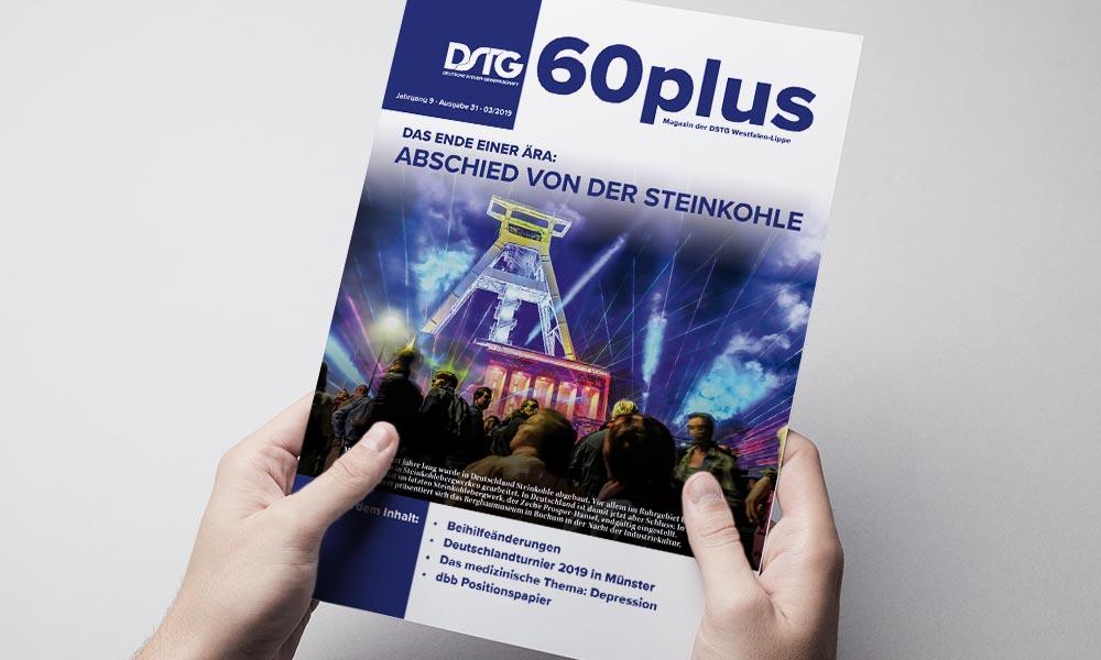 Design & Druck | Broschüre 60plus