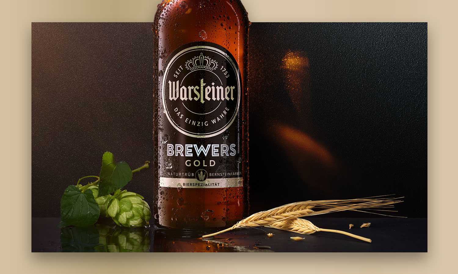 Design | Warsteiner Brewers Gold