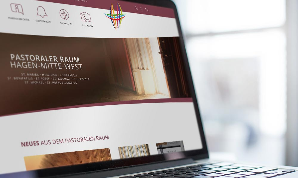 PR Hagen-Mitte-West Website