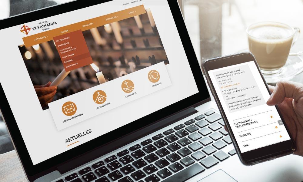 St. Katharina Unna PV Website