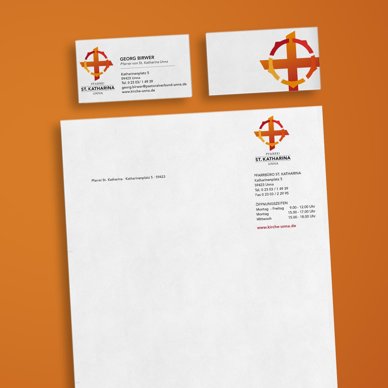 Pastoralerverbund Unna Briefpapier