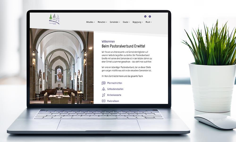Pastoralverbund Erwitte Website