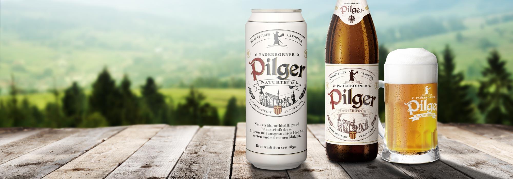 Paderborner Pilger Etikett