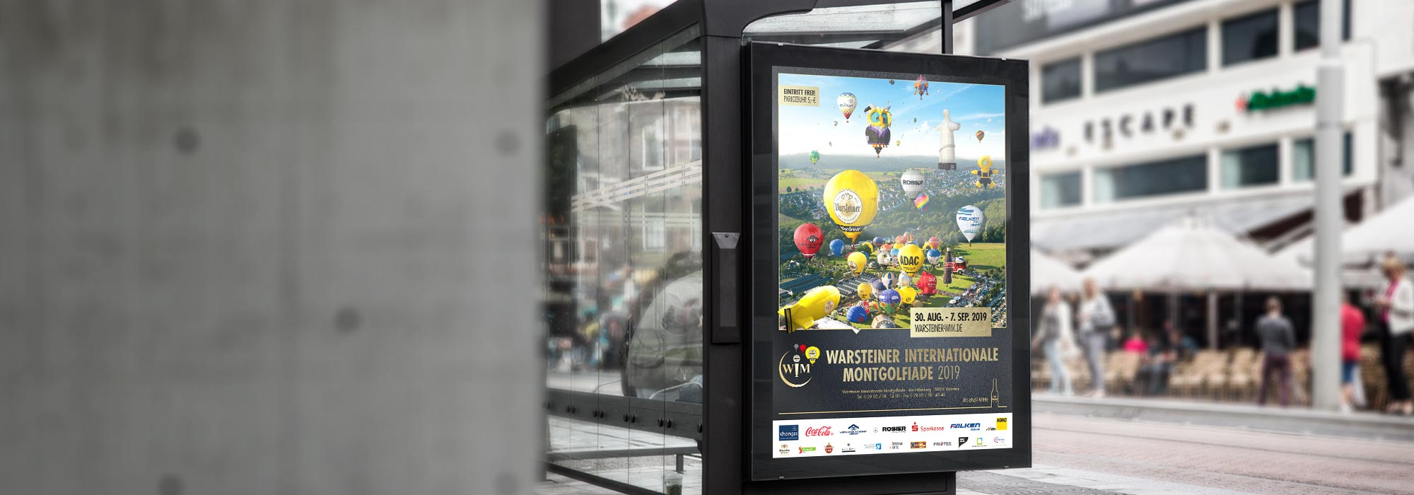 Warsteiner Internationale Montgolfiade Plakat