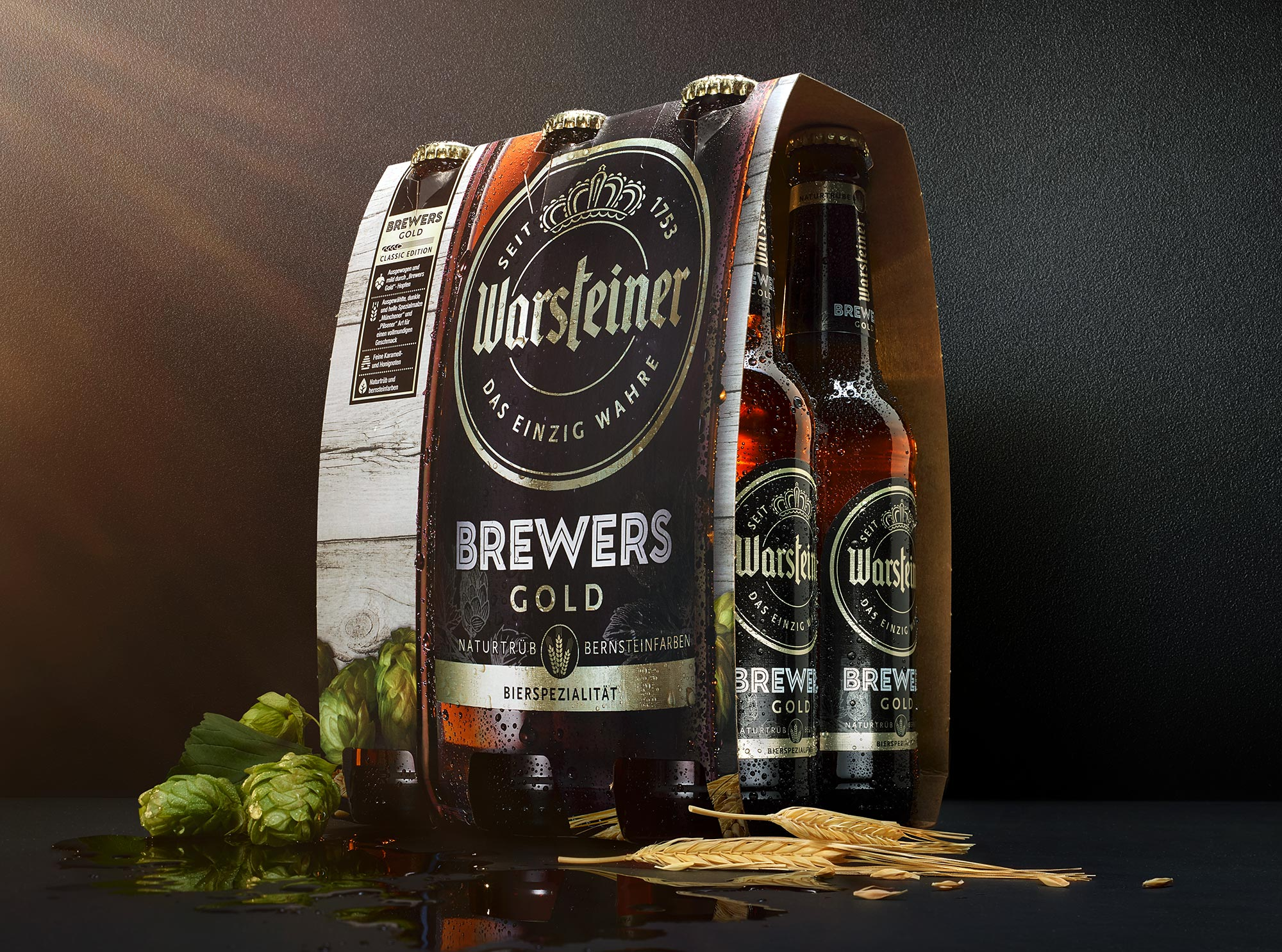 Warsteiner Brewers Gold Sixpack