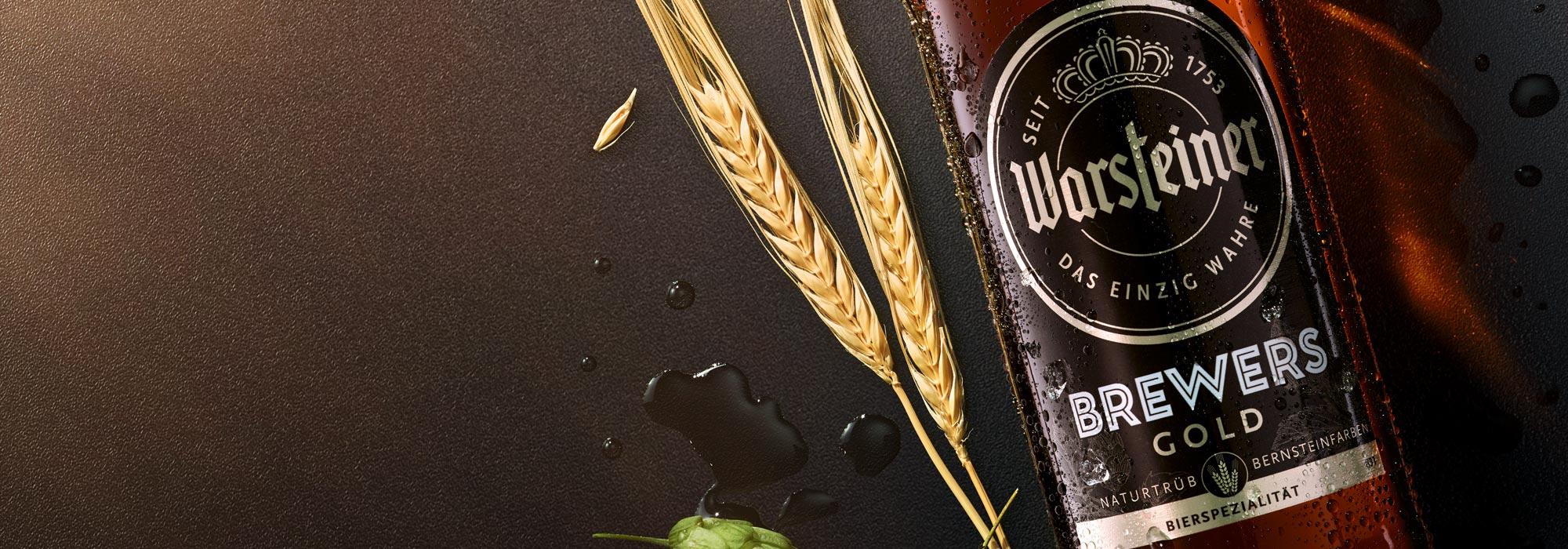 Warsteiner Brewers Gold Design