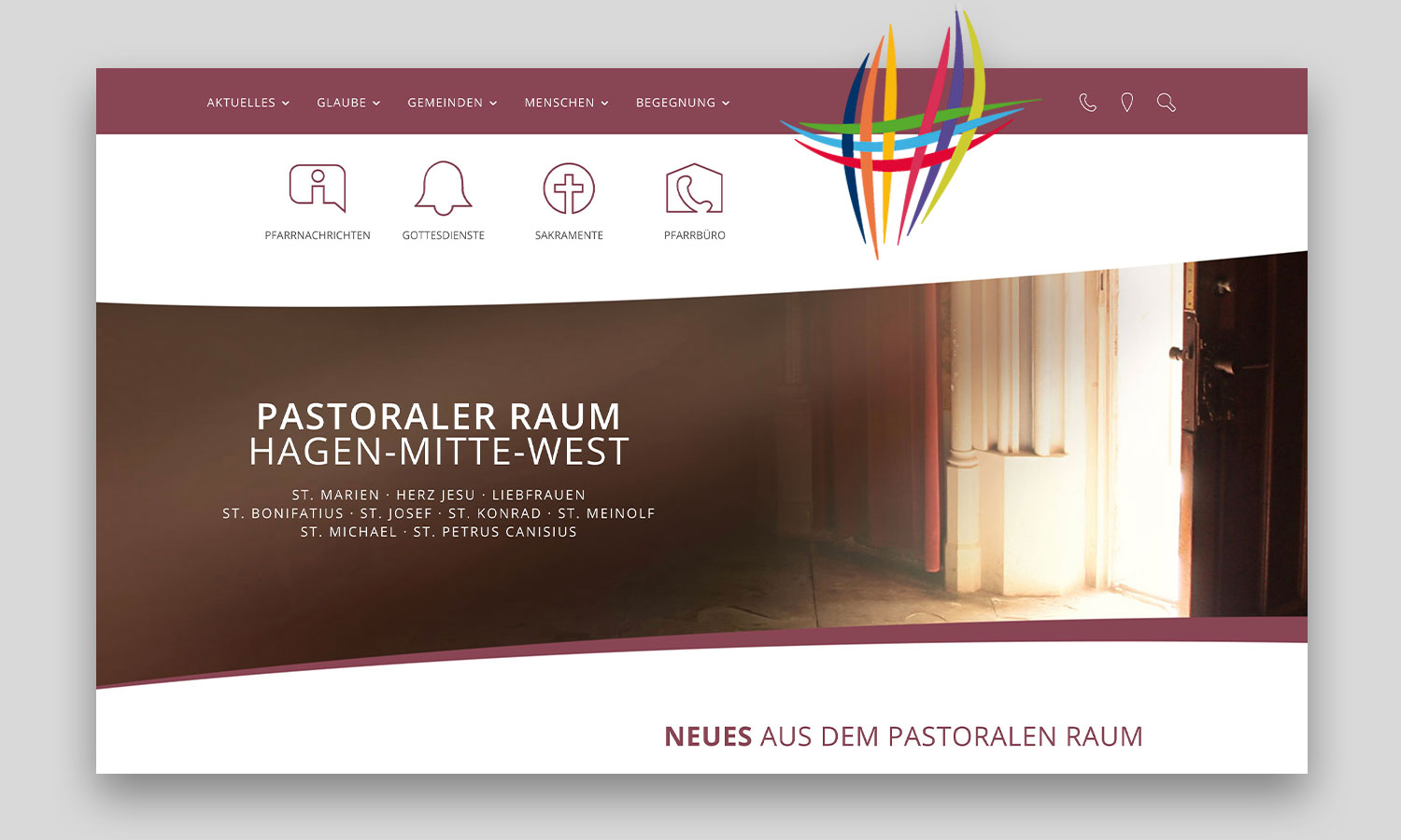 Website | PR Hagen-Mitte-West