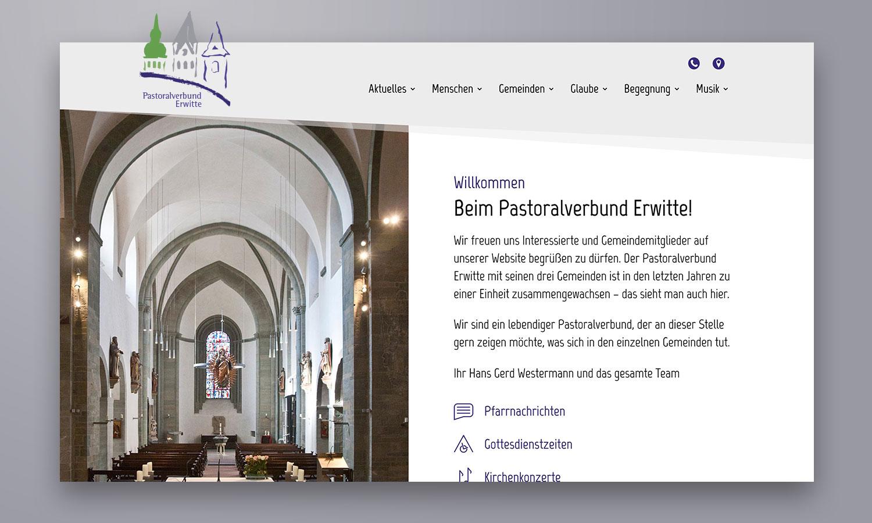 Website | Pastoralverbund Erwitte
