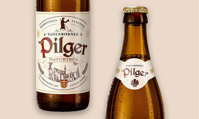 Etiketten-Design | Pilger Landbier