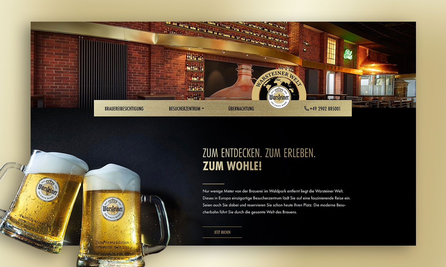 Website | Warsteiner Welt