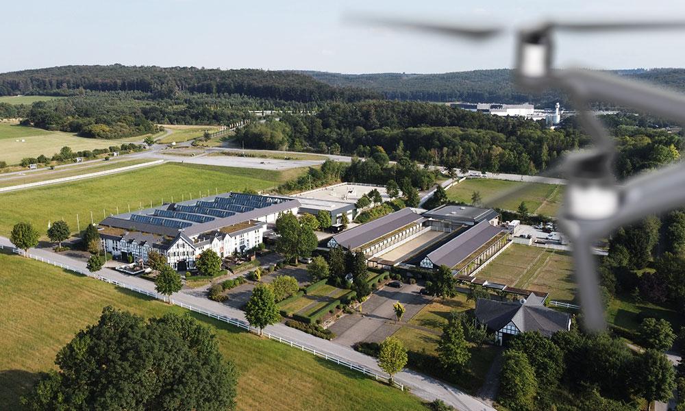 Warsteiner Reitanlage Drohnenflug
