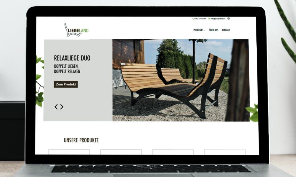 Liegeland Website