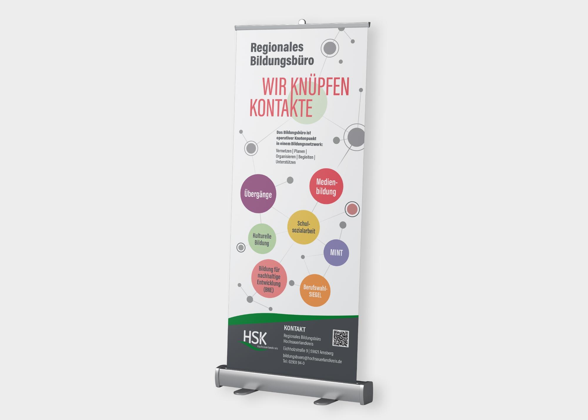 Roll-Up HSK Hochsauerlandkreis